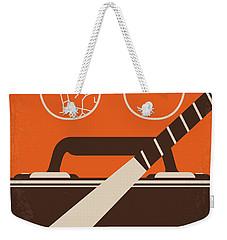 No768 My Falling Down Minimal Movie Poster Weekender Tote Bag
