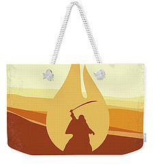 Weekender Tote Bag featuring the digital art No772 My Lawrence Of Arabia Minimal Movie Poster by Chungkong Art