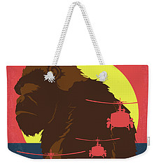 No799 My Skull Island Minimal Movie Poster Weekender Tote Bag