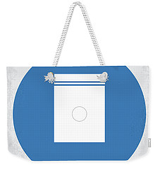 No828 My Limitless Minimal Movie Poster Weekender Tote Bag
