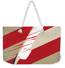 No849 My Sweeney Todd Minimal Movie Poster Weekender Tote Bag