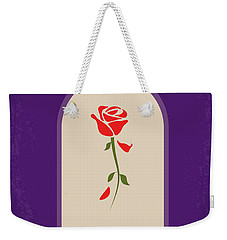 No878 My Beauty And The Beast Minimal Movie Poster Weekender Tote Bag