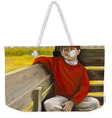 Noah On The Hayride Weekender Tote Bag