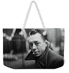 Nobel Prize Winning Writer Albert Camus  Unknown Date Or Photographer -2015           Weekender Tote Bag