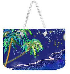 Noche Tropical Weekender Tote Bag
