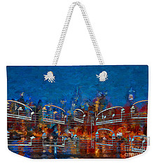 Nocturne 3 Weekender Tote Bag by Lon Chaffin
