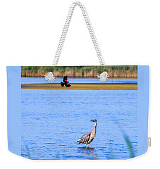Noisy Neighbor Weekender Tote Bag
