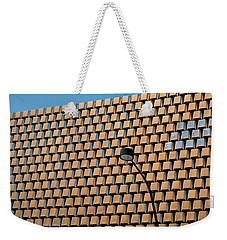 Weekender Tote Bag featuring the photograph Non-conformists by Glenn DiPaola