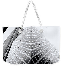 Weekender Tote Bag featuring the photograph Non-pyramidal by Wayne Sherriff