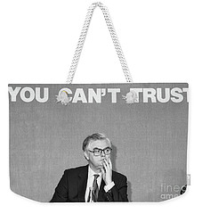 Norman Lamont Chancellor  Weekender Tote Bag