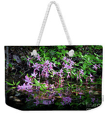 Weekender Tote Bag featuring the photograph Norris Lake Floral 2 by Douglas Stucky