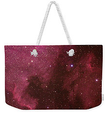 North American And Pelican Nebulas Weekender Tote Bag
