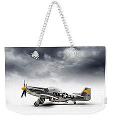 North American P-51 Mustang Weekender Tote Bag by Douglas Pittman
