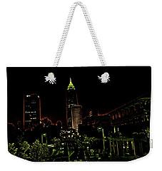 North Avenue Atlanta Weekender Tote Bag by Dennis Baswell