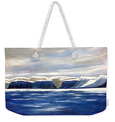 North Baffin Blues Weekender Tote Bag