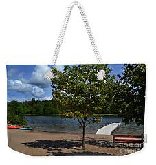 North Bar Lake Canoes Weekender Tote Bag