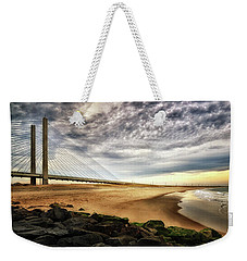 North Beach At Indian River Inlet Weekender Tote Bag