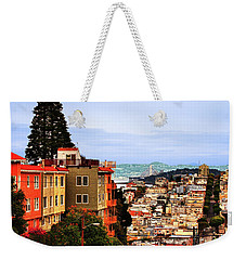 North Beach, San Francisco Weekender Tote Bag