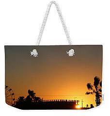 North Beach Sunset Weekender Tote Bag by Thomas OGrady