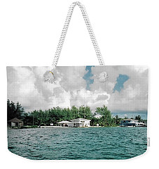 North Bimini Airport Weekender Tote Bag