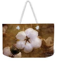 North Carolina Cotton Boll Weekender Tote Bag