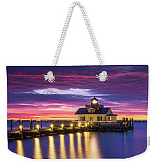 North Carolina Outer Banks Lighthouse Manteo Obx Nc Weekender Tote Bag