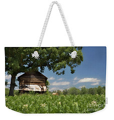 Weekender Tote Bag featuring the photograph North Carolina Tobacco by Benanne Stiens