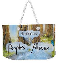 North Coast People's Alliance Weekender Tote Bag