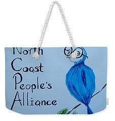 North Coast People's Alliance With Bernie Weekender Tote Bag