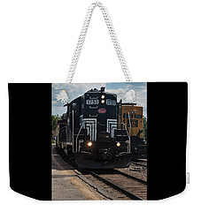 Weekender Tote Bag featuring the photograph Conway Scenic Railroad - New Hampshire by Suzanne Gaff