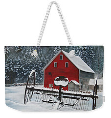 North Country Winter Weekender Tote Bag