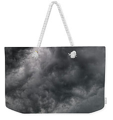 North Dakota Thunderstorm Weekender Tote Bag