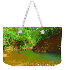 North Fork River Bend Weekender Tote Bag