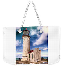 North Head Lighthouse - Washington Coast Weekender Tote Bag by Greg Sigrist