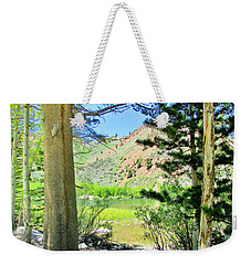 North Lake Weekender Tote Bag by Marilyn Diaz