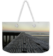 Weekender Tote Bag featuring the photograph North Myrtle Beach Evening by Robert Knight