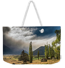 Weekender Tote Bag featuring the photograph North Of Glenorchy by Gary Eason