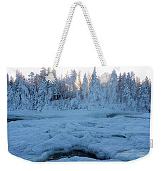 North Of Sweden Weekender Tote Bag