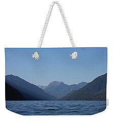 Weekender Tote Bag featuring the photograph North On Duncan by Cathie Douglas