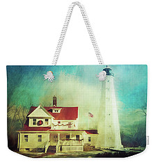 North Point Lighthouse Keeper's Quarters Weekender Tote Bag