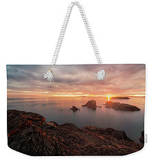 North Puget Sound Sunset Weekender Tote Bag