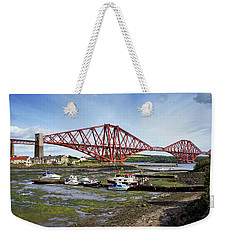 Weekender Tote Bag featuring the photograph North Queensferry by Jeremy Lavender Photography
