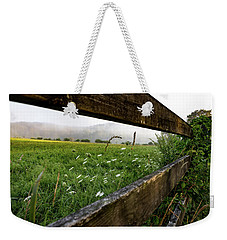 North Road Fence Weekender Tote Bag