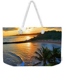 North Shore Of Oahu  Weekender Tote Bag by Michael Rucker