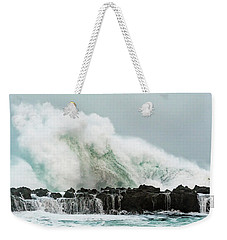 North Shore Swell Weekender Tote Bag