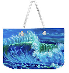 North Shore Wave Hawaii Jenny Lee Discount Weekender Tote Bag