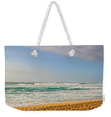 North Shore Waves In The Late Afternoon Sun Weekender Tote Bag