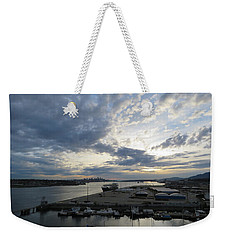 North Vancouver And Vancouver Weekender Tote Bag