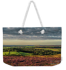 North Yorkshire Heather Weekender Tote Bag