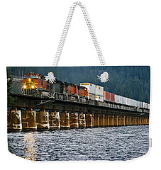 Northbound At Dusk Weekender Tote Bag